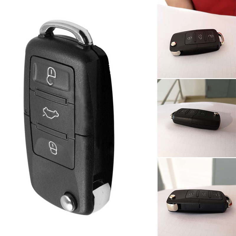Amazing Stash Car Key Shell Pill Box Safe Secret Compartment Container Keyring Secret Hide Hollow Stash Box (Key Not Included)