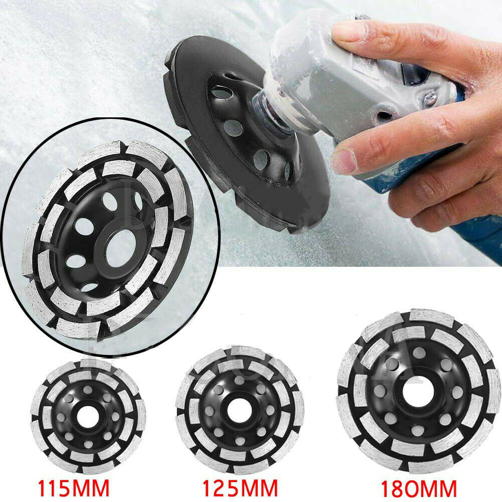 115/125/180 Mm Diamond Segment Grinding CUP Wheel Disc Grinder Concrete Stone