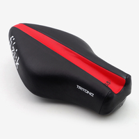 Fizik Tritone Wide Bicycle Saddle Road Cycling Ironman Triathlon Bike Saddle Racing Seat Cover Cushion Leather