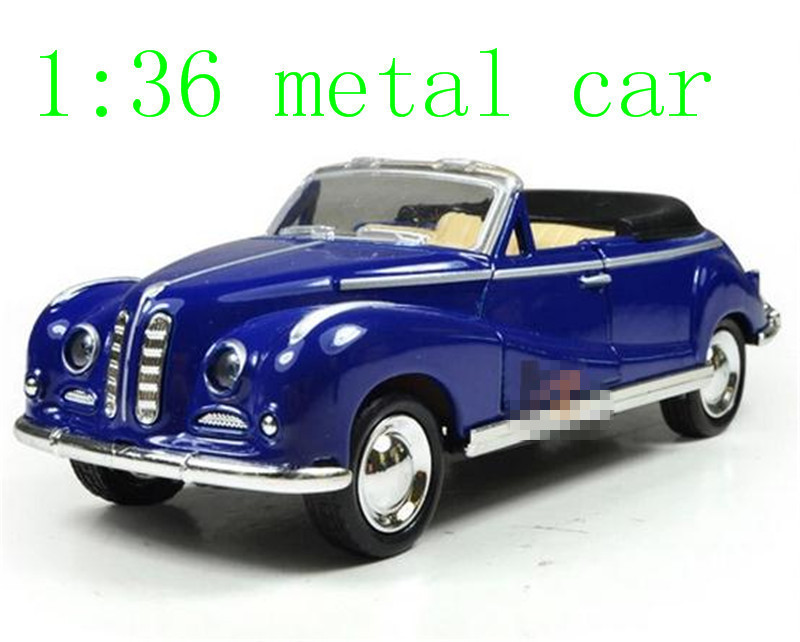 The New Alloy Car Models Classic Children's Toy Car Pull