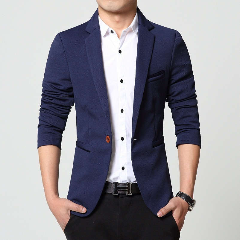 Online Shop Suits men high quality Mens casual Suits Blazers slim ...