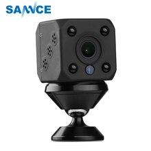 SANNCE 720 P домашняя охранная ip-камера Встроенная батарея беспроводная умная WiFi камера Wi-Fi наблюдение детский монитор Мини камера видеонаблюдения