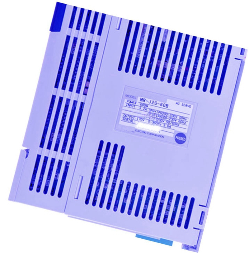 New Original MR-J2S-60B 220VAC 600W AC Servo Drive dhl ems original mr j2 20b mrj220b ac servo drive missing cover a1