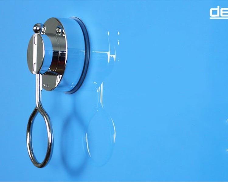 Tozsoran Super Suction Kuboku Hamam Döşəmə Duş Pərdə Çubuğu - Ev dekoru - Fotoqrafiya 6