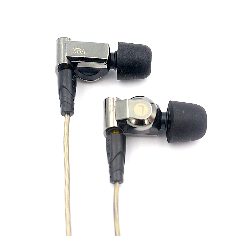 SENFER XBA 6IN1 Hybrid Graphene dynamic Knowles Balanced Armature earphones In Ear DJ HIFI Monitor IEM With MMCX K3003 K2 SE846 image