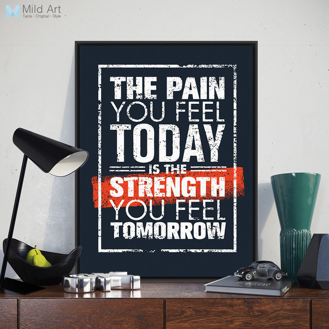 Modern black white motivational typography quotes pop a4 large art prints poster wall pictures canvas painting