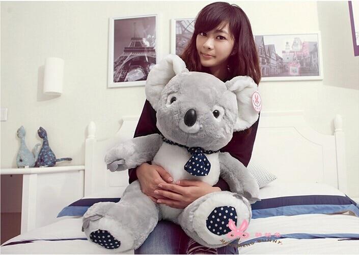 large 50cm koala bear plush toy koala doll throw pillow ,Christmas gift b3147
