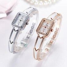 Marque de luxe Bracelet Montres Femmes En Acier Inoxydable Montres Dames Robe Quartz Montres Horloge montre femme AC071
