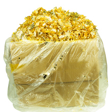 A famous Chinese gold factory supply, 1KG Imitation gold Flake leaf,gilding in good quality , free shipping