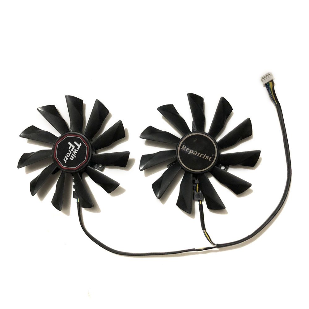 PLD10010S12HH 95MM 4Pin 12V 0.4A Video Cooler Fan For Graphics Card MSI R9 290X 280X 270X 260X Cooling System As Replacement