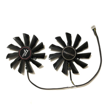 PLD10010S12HH PLD10010B12HH 95MM 4Pin 12V 0.4A Video Cooler Fan For Graphics Card MSI R9 290X 280X 270X 260X As Replacement image
