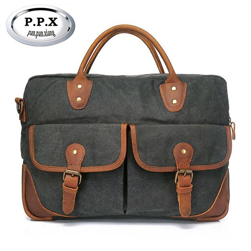 Multi-function Canvas Handbags Vintage Travel Bag Casual Messenger Bags For Men Luxury Designer Handbags Bolsa Feminina L130