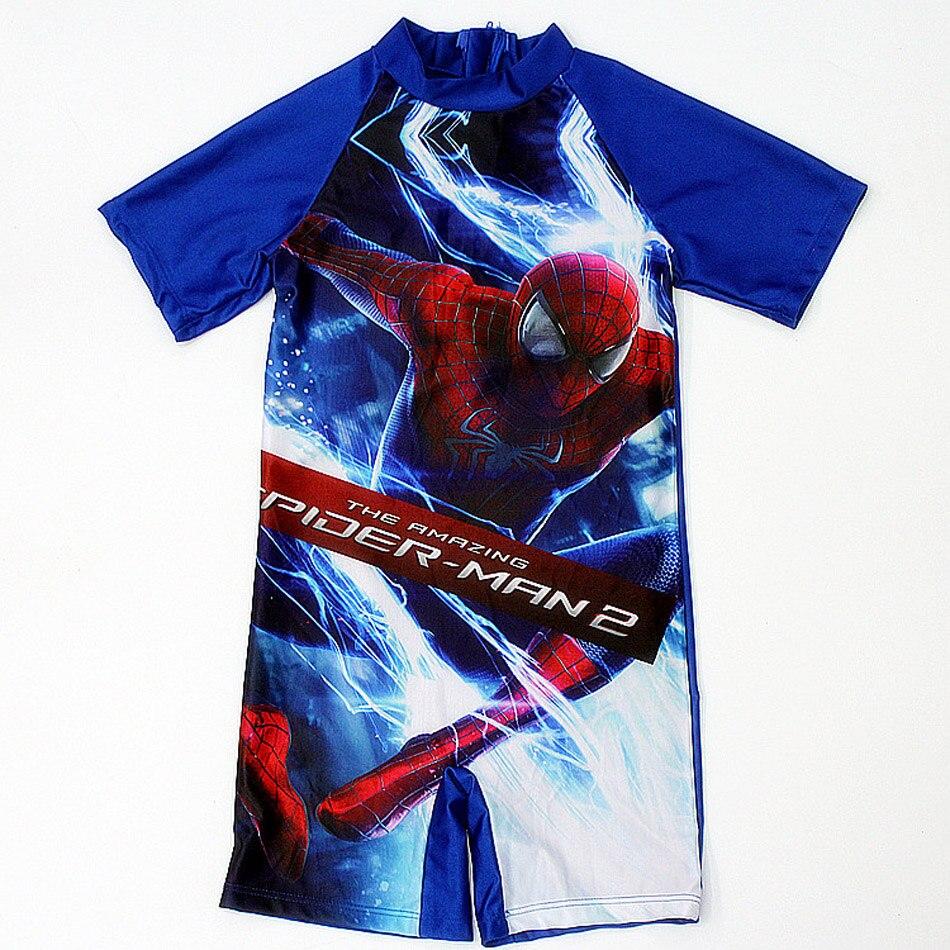 4c680927d8 Multi Cartoon Characters Boys Swimsuit Spiderman Kids Baby Swimwear Bathing  Suit Short sleeve Beach Swimwear Baby Swimsuit Set-in Children's One-Piece  Suits ...