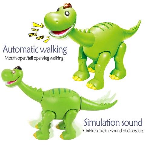 aoustoottic braquiosaurus piscando dinossauros brinquedos encantadores presente criancas