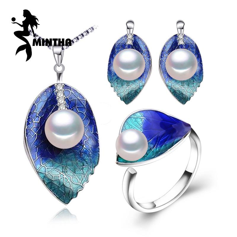 Набори ювелірних виробів MINTHA Pearl, - Вишукані прикраси