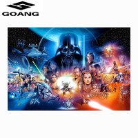 Full Square Drill 5D DIY Diamond Painting Star Wars 3D Embroidery Cross Stitch Mosaic Home Decor