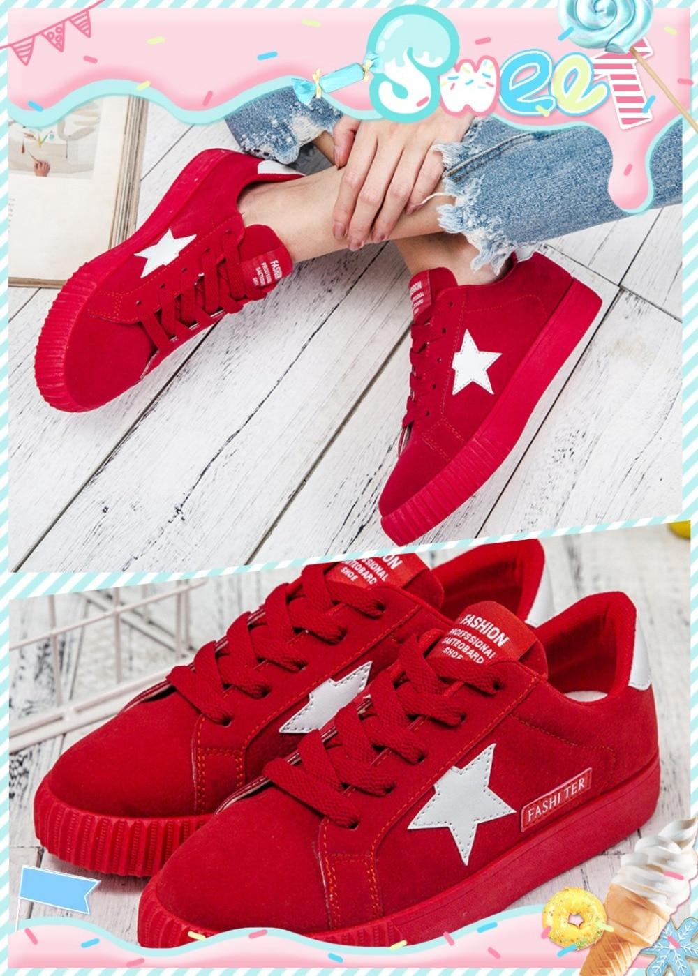 Chaussures Noir rouge rose Plat gris De 2018 Base Sauvage Noir Toile Coréenne Femme Étudiants Casual Nouveau Petit ZOTawYAq