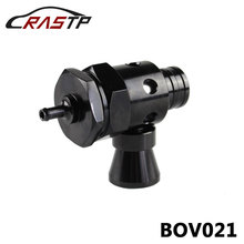 RASTP-Universal Auto New Turbo Blow Off Valve BOV With Whistler RS-BOV021 rastp exhaust control valve set with vacuum actuator cutout 3 0 76mm pipe close style with wireless remote controller rs bov041