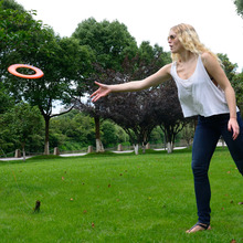 Hot Selling Flying Disk PU Frisbee Early Learning & Education Kids Outdoor Fun & Sports Baby Kids Child Boy Toy Gift Flying Disc