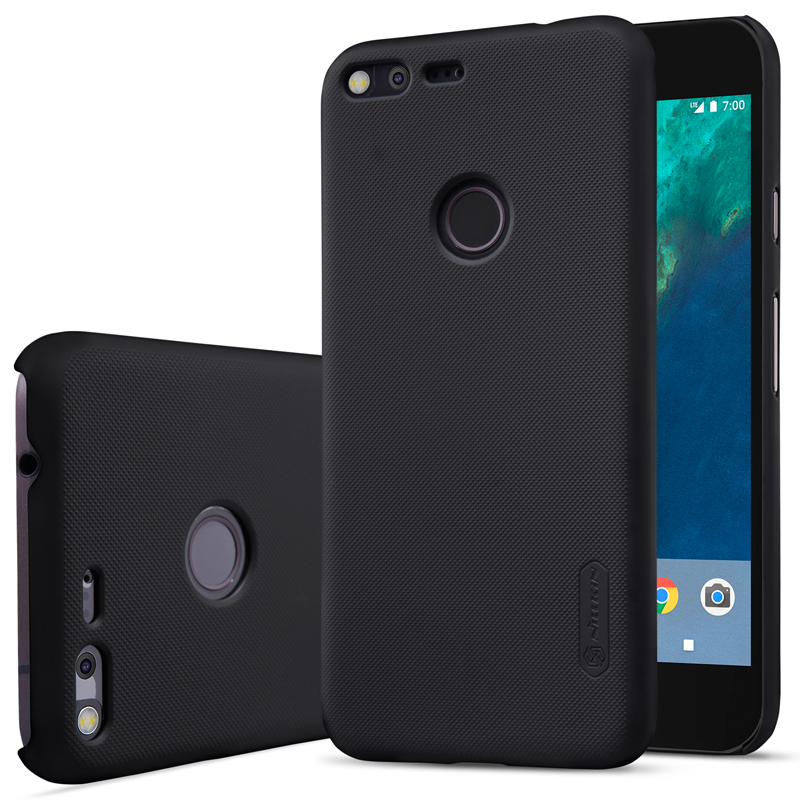 For Google Pixel 5.0Inch Case Original Nillkin Frosted Shield Hard Back Cover For Google Pixel Plastic Shell For Google Pixel 1