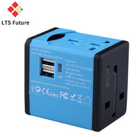 2017 Newest Orangal Universal Travel Adapter Dual USB Charger Electrical Socket US UK EU AU International