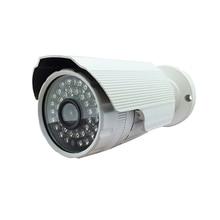 Audio HD 720 P 1MP IP onvif P2P cámara de seguridad impermeable DEL IR de la visión nocturna de detección de movimiento