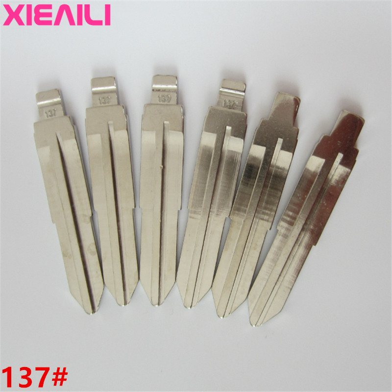 XIEAILI 20Pcs/lot 137# Metal Blank Uncut Flip KD Remote Key Blade For Ssangyong   S170XIEAILI 20Pcs/lot 137# Metal Blank Uncut Flip KD Remote Key Blade For Ssangyong   S170