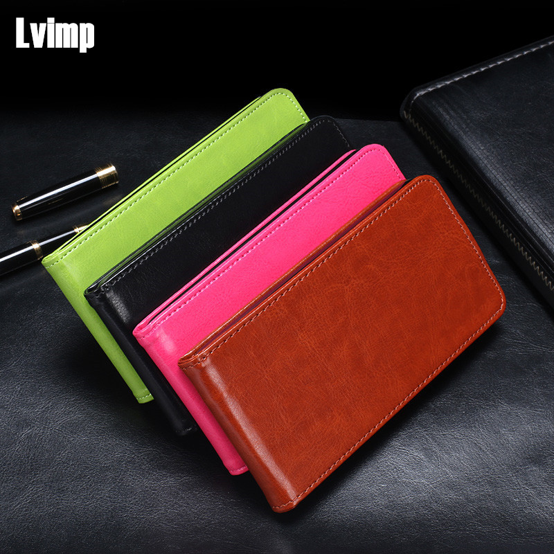 For Apple iPhone7 8 Genuine Leather Luxury Business Maganetic Vertical Flip Case For iPhone8 7 Business Style Classic Cover