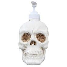 1 шт. прочный практичный декоративный Готический креативный диспенсер для шампуня, лосьона, жидкого мыла, геля для душа