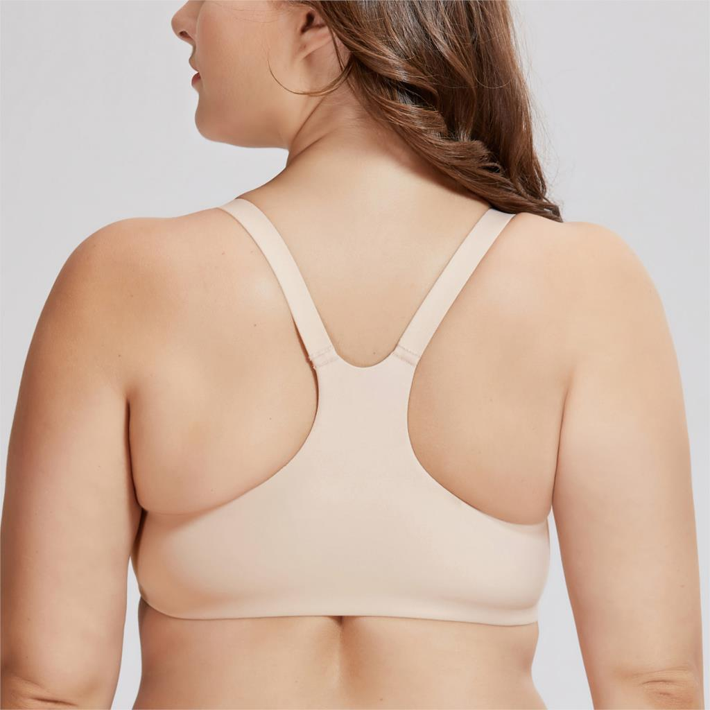 Image 3 - Women's Smooth Foam Full Coverage Underwire Front Closure  Racerback Bra-in Bras from Underwear & Sleepwears