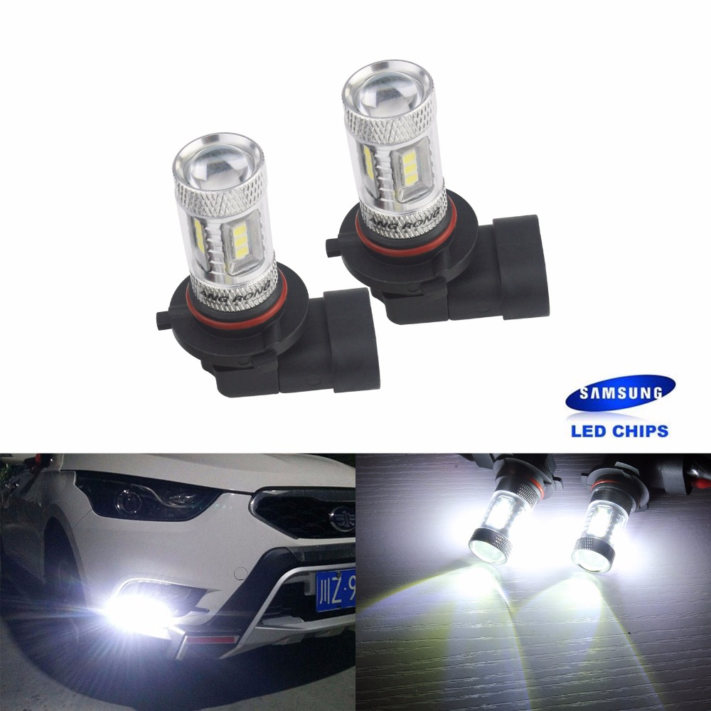 Peugeot 807 8SMD LED Error Free Canbus Side Light Beam Bulbs Pair Upgrade
