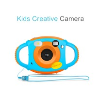 KaRue 5pcs Mini Kid 5MP HD Projection Digital Cameras Digital Camera Fashion Cute Photography Video Camera Best Gift for Child