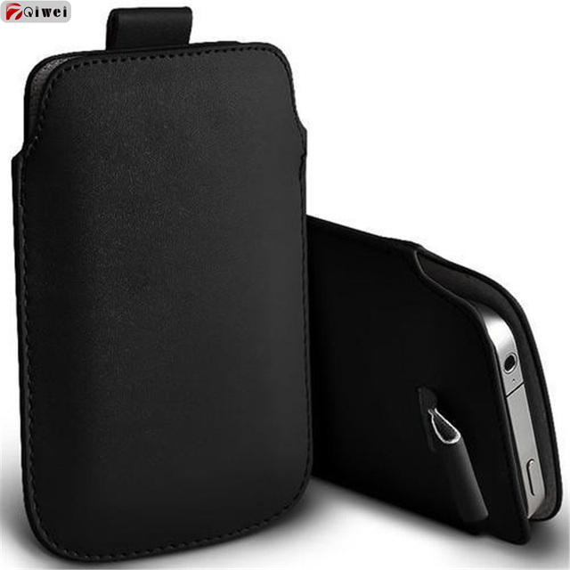 wholesale dealer cc250 de371 For Coque iphone X 10 Case Pocket Rope Holster Pull Tab Sleeve Pouch Case  Cover For iphone X Leather Capas For Iphone X10 Fundas
