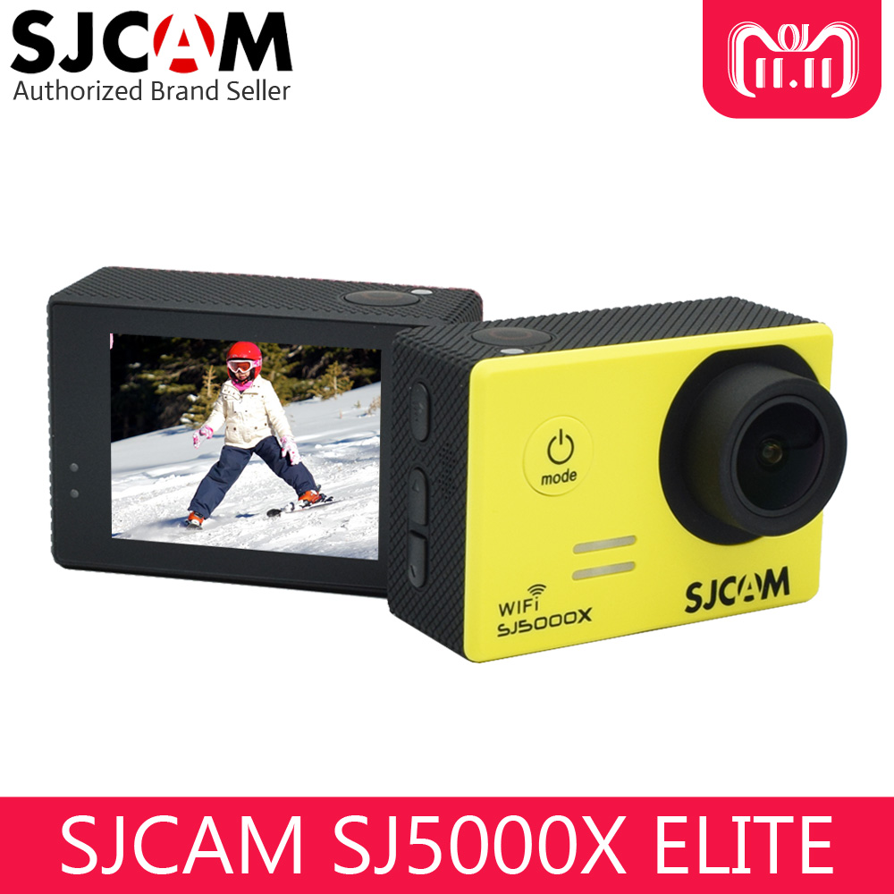 Original SJCAM SJ5000X Elite Wifi 4K Action Camera Gyro Ultra HD Waterproof Diving Outdoor Mini Sport DV original sjcam sj5000x elite wifi 4k action camera gyro ultra hd waterproof diving outdoor mini sport dv