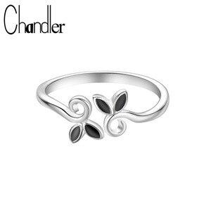 Chandler Silver Color Vine Lea