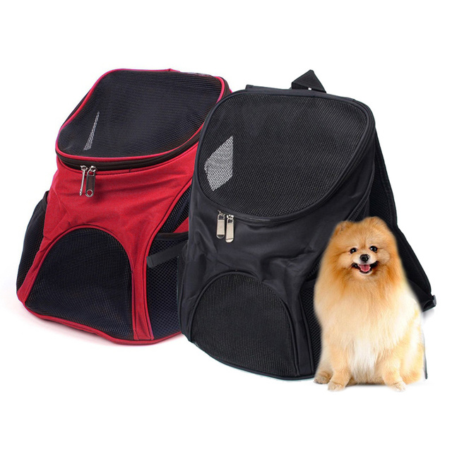 Backpack For Dog Bags Small Dogs Pet Cat Carrier Portable Travel Bag Adjule