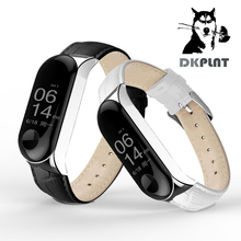 Amazfeel Mi Band Three Strap Steel For Authentic Xiaomi Mi Band Three Stainless Metal Bracelet MiBand Three Wristbands Change Wrist Strap