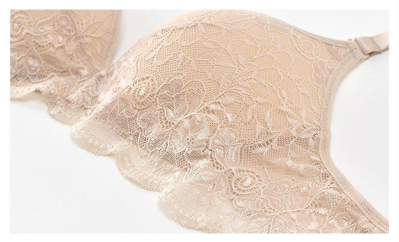 Women Lace Bras Wireless Bralette Seamless Bra Push up 100% Natural silk underwear deporte sujetador reggiseno Free shipping 23