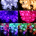 4.5m 40Led Flowers Led string garland light Christmas New year Wedding Holiday Party home luminaria decoration lamp