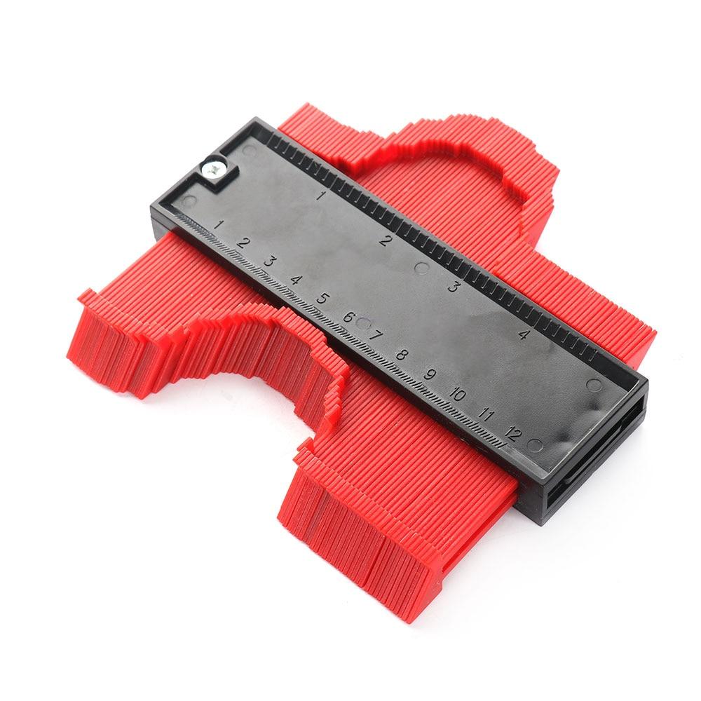Plastic Contour Duplication Gauge Protractors Copy Irregular Shapes Fit Easy Cutting Profile Carpenter Tools