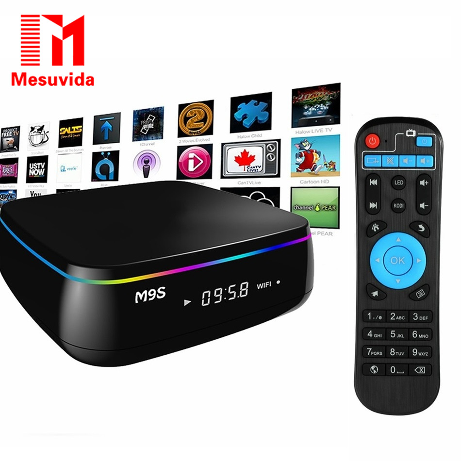 ФОТО Mesuvida M9S MIX Set-top TV Box Amlogic S912 Octa Core Android 6.0 2.4G + 5G Dual Band WiFi BT 4.0 2G RAM + 16G ROM Smart TV Box
