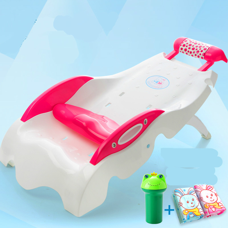 Children Shampoo Chair Extra Large Thicker Plastic Adjustable Folding Shampoo Lounger Children Baby Shampoo Bed 2016 hot sale factory price hotel extra folding bed 12cm sponge rollaway beds for guest room roll away folding extra bed