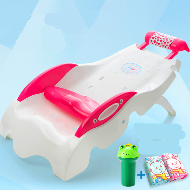 Children Shampoo Chair Extra Large Thicker Plastic Adjustable Folding Shampoo Lounger Children Baby Shampoo Bed
