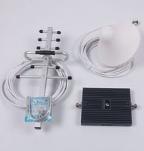 Tri-band Repeater 900/1800/2100CMHz cell Phone Signal Booster GSM WCDMA 3G ALC 60db Gain Triband Amplifier