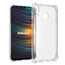 Clear Anti Shock Soft TPU Crystal Transparent Slim Slip Full Phone Case For Samsung Galaxy M20 SM-M205F Scratch