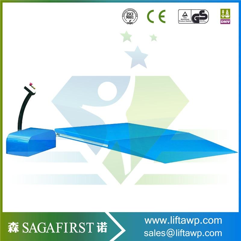 Material Cargo Scissor Loading Platform/Guide Rail Lift