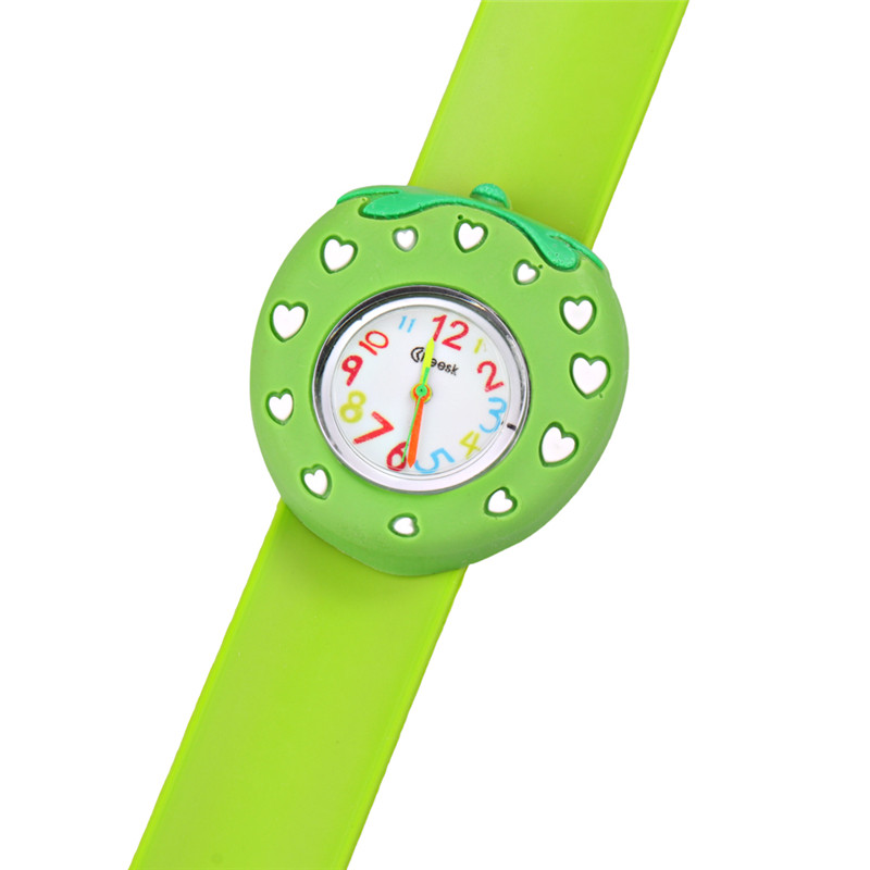 Relogio Infantil Cartoon 3D Animal Kids Watches Rubber Quartz Children's Watches For Girls Boys