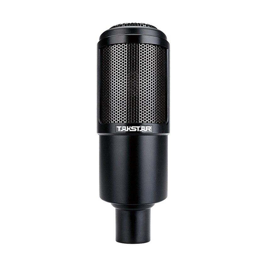Micro Original Takstar PC-K320 à adresse latérale condensateur micro professionnel pour la diffusion d'enregistrement Vocal et d'instruments