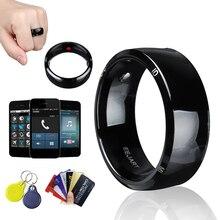 방수 잠금 해제 건강 보호 스마트 링 착용 새로운 기술 마술 손가락 NFC 반지 안 드 로이드 Windows NFC 휴대 전화