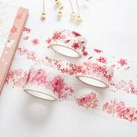 20pcs/lot Romantic Cherry tape 2 3cm*7mDIY decorative scrapbooking planner masking tape adhesive tape kawaii stationery 7156